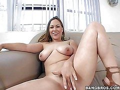 Kaylee Sanchez is a naughty woman with massive unassuming titties