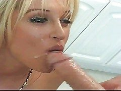Famous tanned tow-haired pornstar Jill Kelly with unproficient special together with