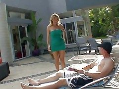 Smoking hot blonde milf Tanya Tate with awesome host coupled with