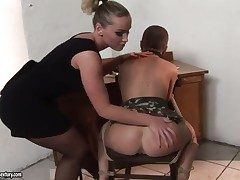 Blonde and Kathia Nobili are get-at-able to lick