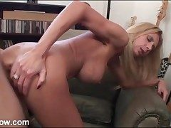 Big dick fucks milf with a staggering set be proper of fake Bristols