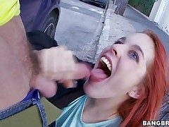 Amarna Miller is a cute red-haired Spanish damsel that loves