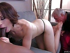 Sarah Shevon is sex hungry cuz her disabled older husband