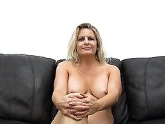 Enormous Titty MILF Gets Pounded and Creampied