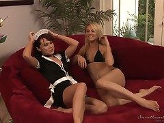 Hot pansy fucking chapter of naughty Annabelle Lee plus loved Samantha Ryan!