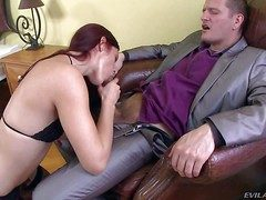 Hot and pale redhead costly Mira Sunset enjoys in like one another