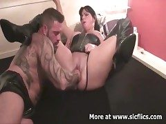 Brutally fisting my wifes popular cunt till she screams