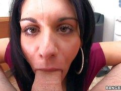 Bella Reese is a lovable dark haired MILF foreigner Italy.