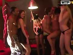 Enjoy watchin at one's fingertips hardcore sex party with Adel, Alon, Anette Dawn, Julia Crow  Zanna